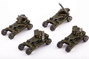 Dropzone Commander UCM Wolverine Scout Buggies